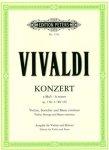 Vivaldi, Concerto, op. 3 Nr. 6, Notenausgabe