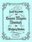 L. Mozart, zwölf kleine Stücke, Notenausgabe