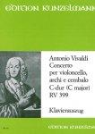 Vivaldi, Concerto, C-Dur, RV 399, Notenausgabe