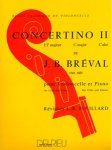Bréval, Concertino II, C-Dur, Notenausgabe