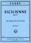 Fauré, Sicilienne op. 78, Notenausgabe