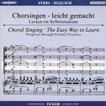 Verdi, G.: Requiem, CD Chorstimme Tenor