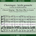 Verdi, G.: Requiem, CD Chorstimme Bass
