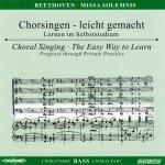 Beethoven,L.: Missa Solemnis D-Dur op. 123, CD Chorstimme Bass
