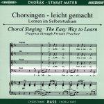 Dvorák,A.: Stabat Mater op. 58, CD Chorstimme Bass