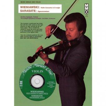 WIENIAWSKI Violin Concerto No. 2 in D minor, op. 22; SARASATE Zigeunerweisen (`G