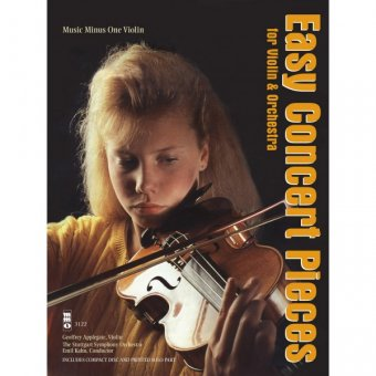 Easy Concert Pieces for Violin & Orchestra (1 CD)