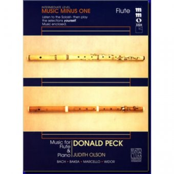 Intermediate Flute Solos, vol. II (Donald Peck) (1 CD)