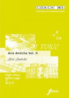 Arie Antiche Vol. II - hohe Lage