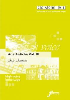 Arie Antiche Vol. III - hohe Lage