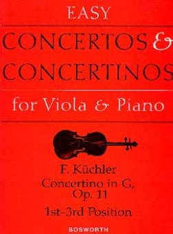 Küchler, Concertino in G, op. 11, Notenausgabe