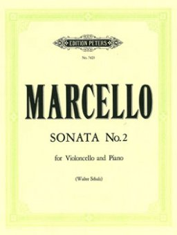 Marcello, Sonata No. 2, Notenausgabe