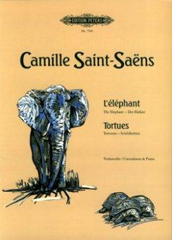Saint-Saëns, L`éléphant + Tortues Notenausgabe