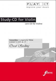 Rieding, Concertino op. 21, a-moll