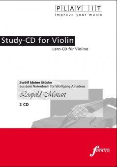Mozart, Leopold, 12 kleine Stücke (2 CD)