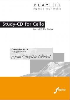 Bréval, Concertino Nr. 5, D-Dur