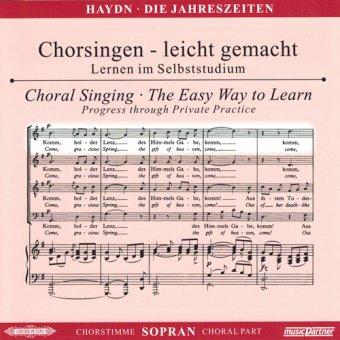 Haydn,J.: Die Jahreszeiten Hob. XXI: 3, CD Chorstimme Sopran