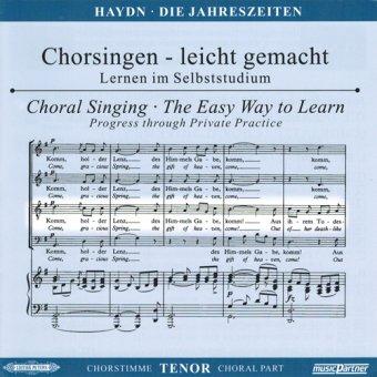 Haydn,J.: Die Jahreszeiten Hob. XXI: 3, CD Chorstimme Tenor