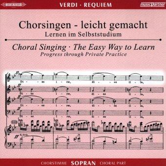 Verdi, G.: Requiem, CD Chorstimme Sopran