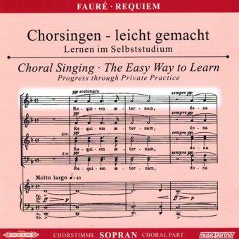 Fauré, G.: Messe de Requiem d-Moll op.48, CD Chorstimme Sopran
