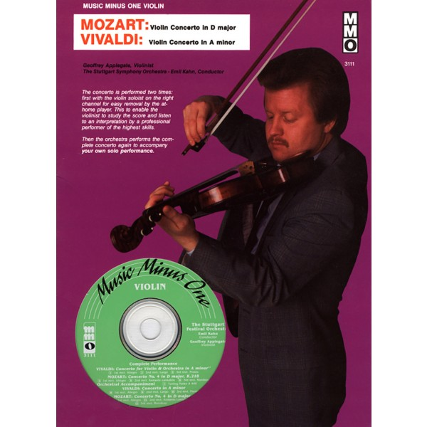MOZART Violin Concerto No. 4 in D major, KV218; VIVALDI Concerto in A minor, op.