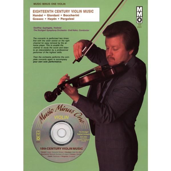 18th Century Violin Pieces for Violin & Orchestra (1 CD)
