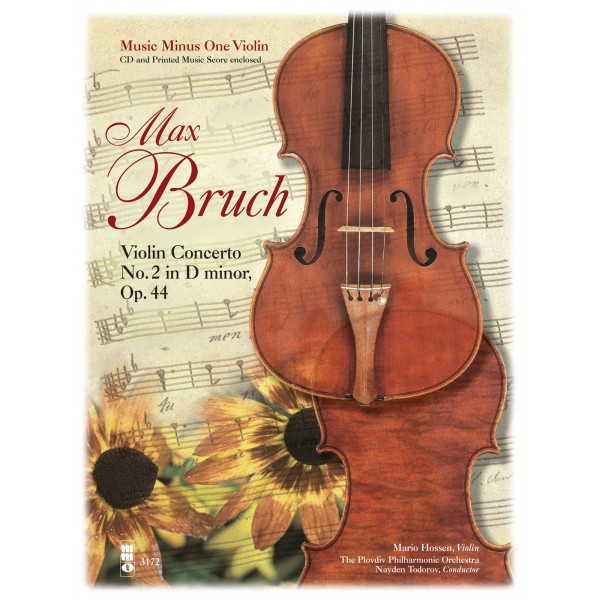 BRUCH Violin Concerto No. 2 in D minor, op. 44 (2 CD set) (2 CDs)