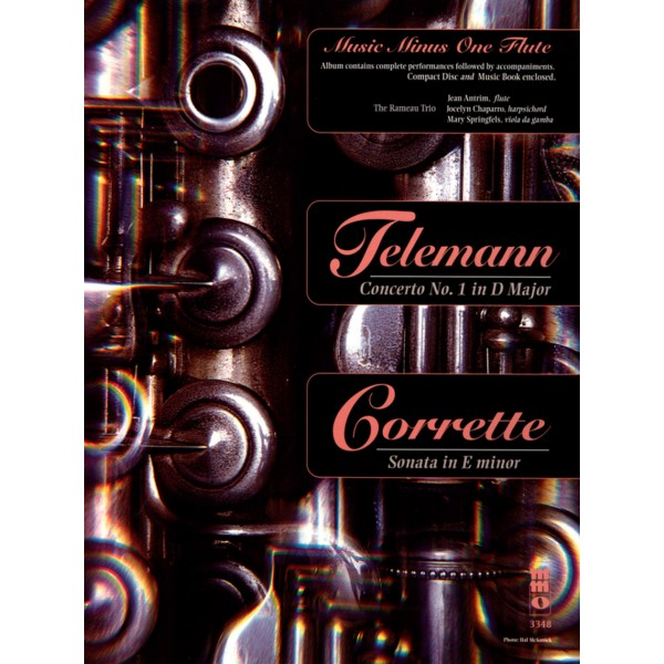 TELEMANN Concerto No. 1 in D major/ CORRETTE Sonata in E minor (1 CD)