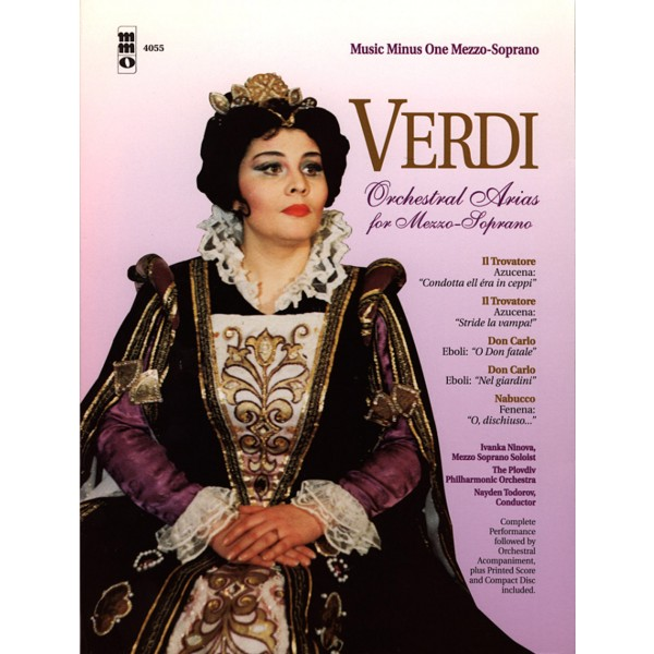 VERDI Arias for Mezzo-Soprano with Orchestra (1 CD)