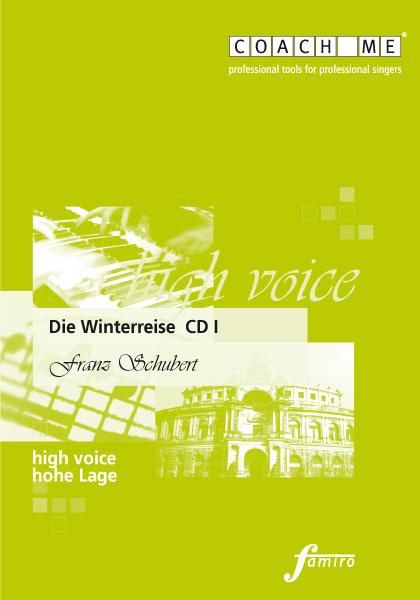Schubert Winterreise (3 CDs) - hohe Lage