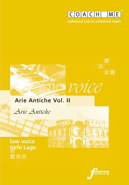 Arie Antiche Vol. II - tiefe Lage
