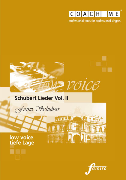Schubert Lieder Vol. II - tiefe Lage