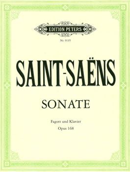 Saint-Saëns, Sonate op. 168, Notenausgabe