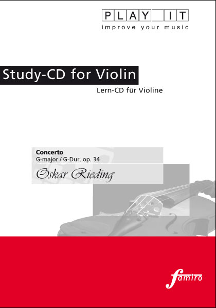 Rieding, Concerto op. 34, G-Dur