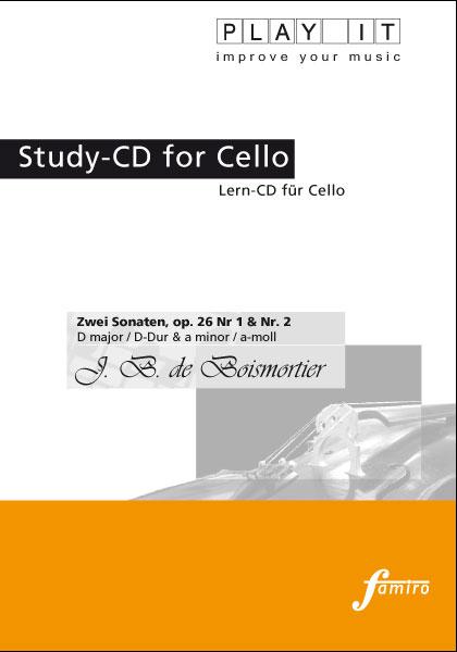Boismortier, Zwei Sonaten op. 26 Nr. 1 + 2
