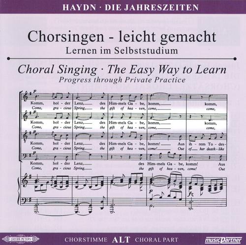 Haydn,J.: Die Jahreszeiten Hob. XXI: 3, CD Chorstimme Alt