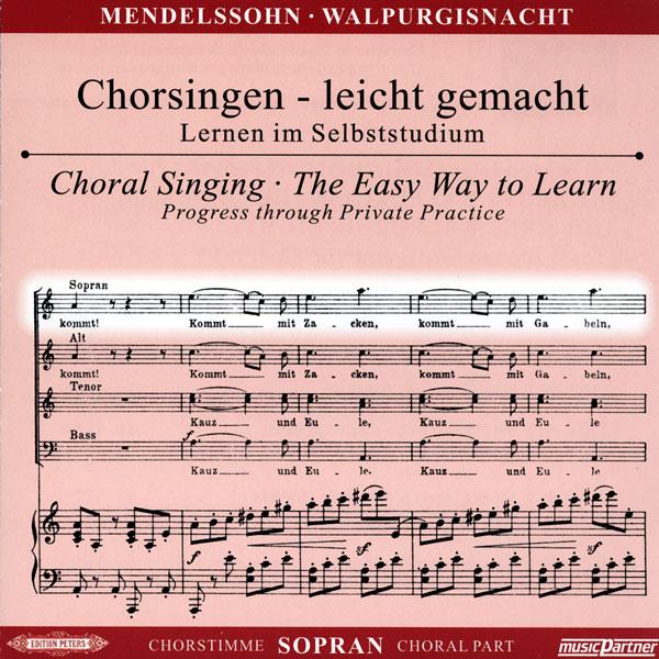 Mendelssohn,F.: Die erste Walpurgisnacht op. 60, CD Chorstimme Sopran